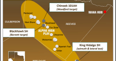 Apache Delivers First Alpine High NatGas; Infrastructure Build Continues