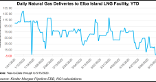 Fire at Elba Island LNG Shuts Down Three Units, Cuts Feed Gas Deliveries