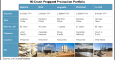 Hi-Crush Building Out Last-Mile Proppant Business, Expanding Permian Sand Operations