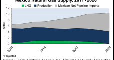 U.S. NatGas Pipeline Exports to Mexico Seen Doubling by 2020