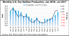 LNG Exports Surge 241%, Dry NatGas Production Up 1% Year/Year, EIA Says