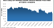 NatGas Cash Up A Nickel, Northern Border Ventura Flounders; Futures Gain 4 Cents