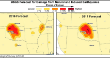 USGS: Ground Shook Less in Oklahoma Last Year, But Hazards Remain