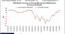 Stampede Ends for Natural Gas Bulls as Futures Drop Ahead of EIA Storage Report; Cash Mixed