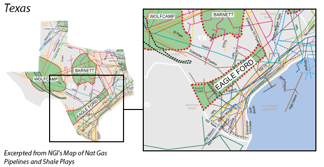 Eagle Ford map