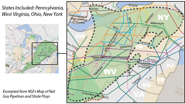 Marcellus Shale Map