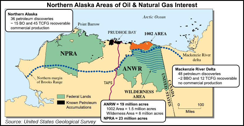Northern Alaska Areas of Oil and Natural Gas Interest