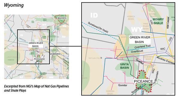 Green River Basin Map
