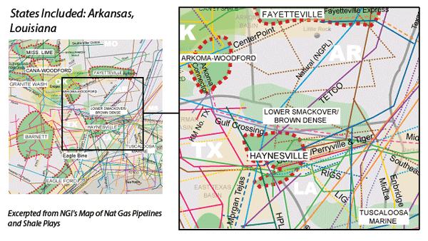 Lower Smackover/Brown Dense Shale map