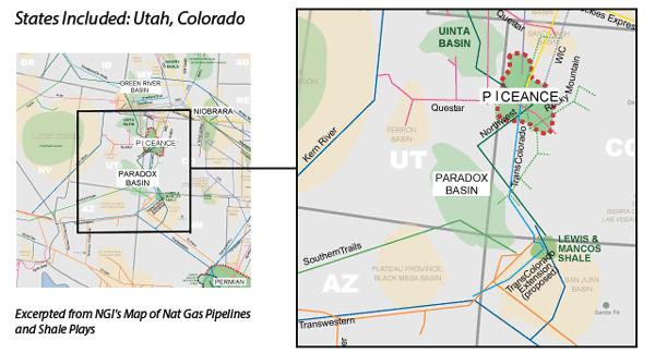 Paradox Basin Map