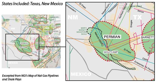 Permian Main Map