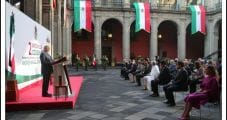 AMLO Hails 'Rescue' of Pemex, CFE in Subdued State of Nation Address