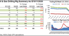 U.S. Natural Gas Rig Count Down One as Domestic Drilling Activity Steady