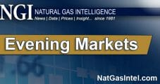 December Natural Gas Futures Sink on Mild Weather Forecasts