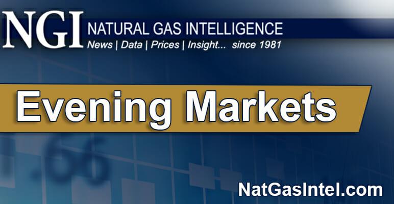 NGI Evening Natural Gas Price & Markets Coverage