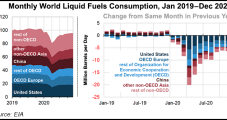 Global Petroleum Demand Drop in 2020 Marked Steepest on Record, EIA Says