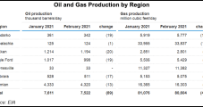 Natural Gas Production in Lower 48 to Continue Falling from January to February, EIA Says