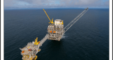 Natural Gas Flowing from Chevron's Alen Project Offshore Equatorial Guinea