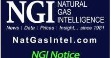Updated Notice of Proposed Change to NGI's Bidweek Survey