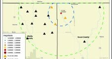 Oklahoma Wastewater Wells Ordered Shut After Latest Seismic Event