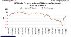 LNG Demand, Supply Interruption Fuel April Natural Gas Futures