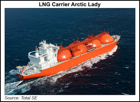 LNG carrier Arctic Lady