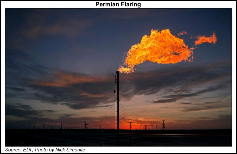 Permian flaring