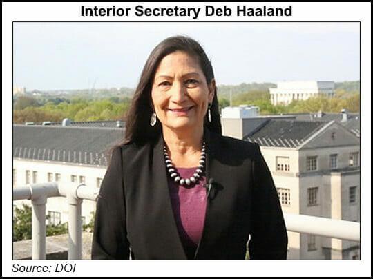 Secretary Deb Haaland