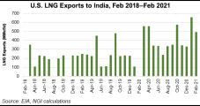 Covid-19 Cases Surge in India, Cutting Into Spot LNG Demand