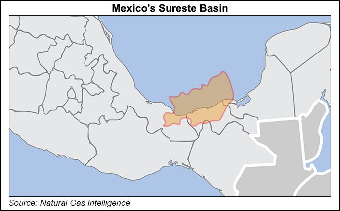 sureste basin