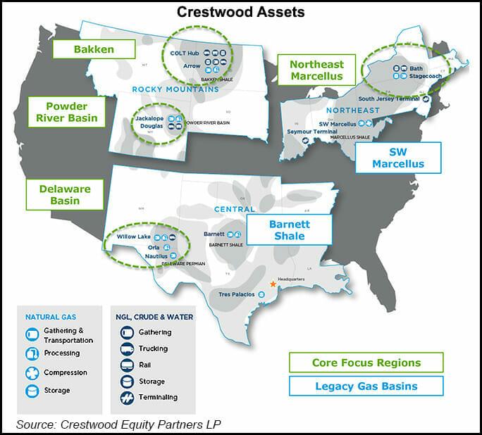 Crestwood assets