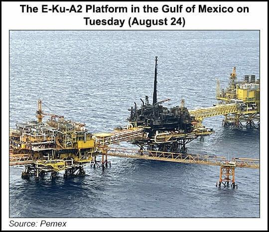 Mexico offshore platform