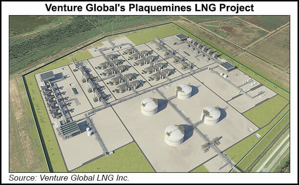 Venture Global Plaquemines LNG